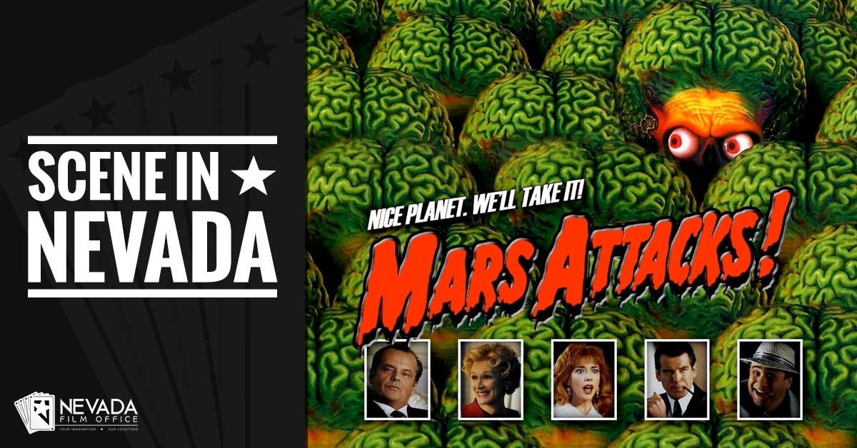 Scene In Nevada: Mars Attacks!