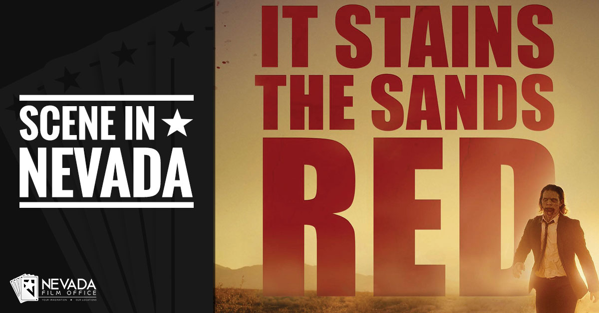 Scene In Nevada: It Stains the Sands Red