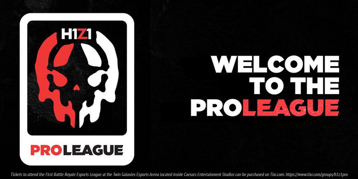 H1Z1 Pro League - First Professional Battle Royale Esports League