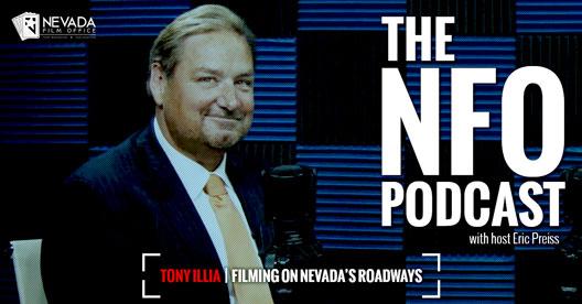 The NFO Podcast - Tony Illia | Filming on Nevada's Roadways