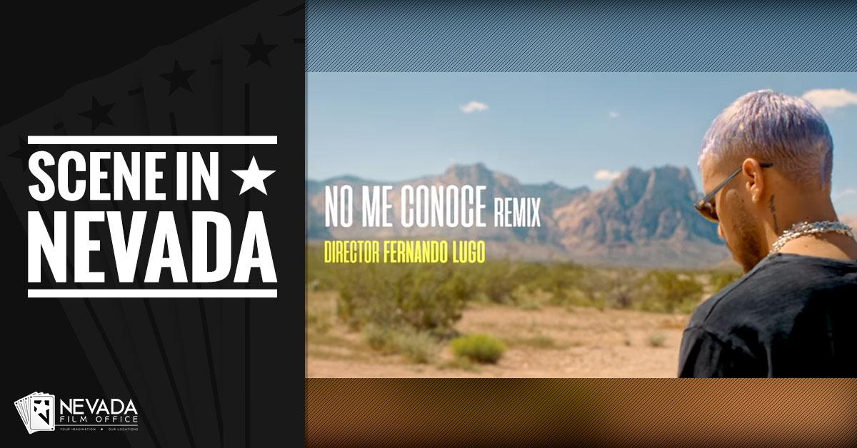 """Scene In Nevada: """"No Me Conoce"""" Music Video"""