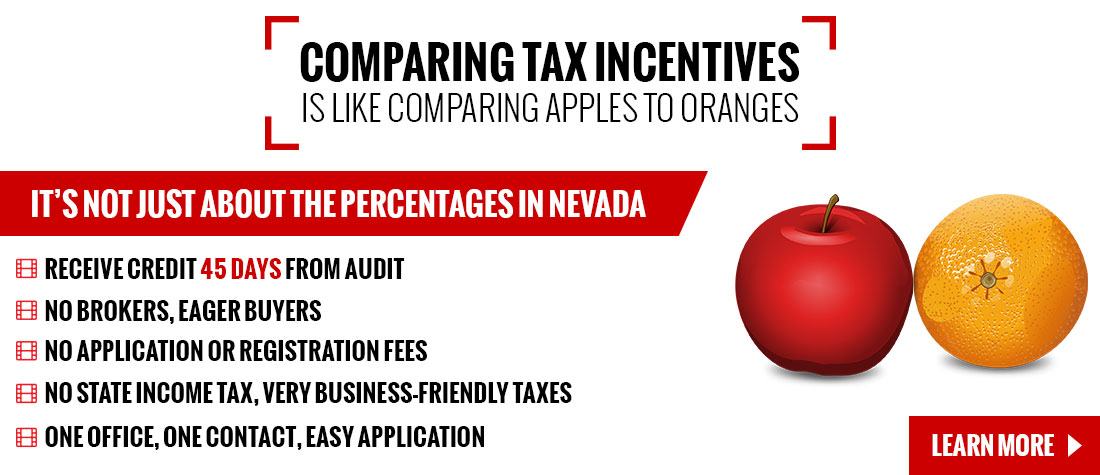 Learn More About Nevada Film Tax Incentives